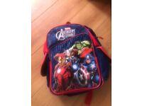 Avenger/captain America school bags