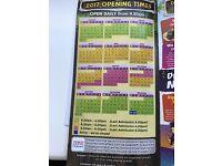 Dinosaur park x2 child tickets valid until 2018