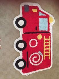 Sam the Fireman mat