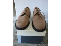 Bally Beige Suede lace up casual shoes – size 9