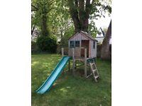 TP Forrest Play House & Slide