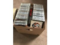 Box of over 150 CD's