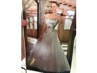Wedding dress with tags size 14