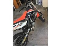 Aprilia rx125 ktm Yamaha Honda