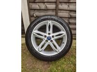 """Focus 2017 17"""" Single Alloy Wheel Spare / Replacement"""