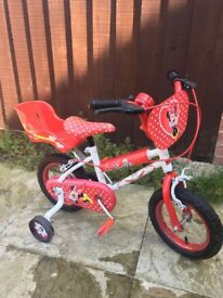 Minnie Mouse Childs Bike