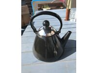 Judge Stove Top Kettle 1.9L - black, suitable for all hobs including Induction £12