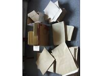 LARGE SELECTION OF BRAND NEW BROWN OFFICE ENVELOPES (QNTY 400) VARIOUS SIZES