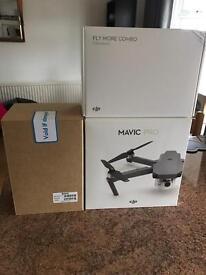 DJI Mavik Pro Folding Drone Combo Pack Purchase or Hire!