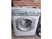 Hotpoint 7kg washer dryer silver