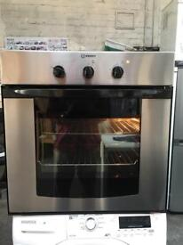 INDESIT Built in Electric Fan Oven Stainless Steel in good condition & Perfect Working Order