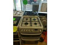 CANNON 60CM GAS DOUBLE OVEN COOKER IN GREY