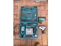 Makita 10.8v twin drill set