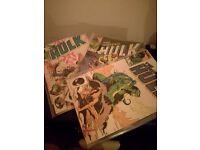 3x Classic Inc HulK Comics !! 1984, 85.