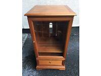 Wooden, Oak, Stereo cabinet / Unit