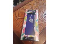 September blue birthstone owl bookmark