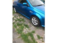 Vauxhall tigra 05 plate must go today