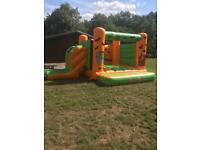 Scary bouncy castle