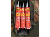 EverBuild Everflex Contract AC50 Acoustic Sealant & Adhesive x 12 900ml Tubes