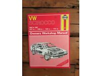 VW Scirocco 1982 to 1987 Haynes Manual