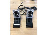 2 x Phillips Webcam SPC 1000NC