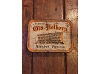 50 x Old/Used Lloyd's Old Holborn, Blended Virginia tobacco tin