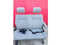 VW T4 Double seat and belts