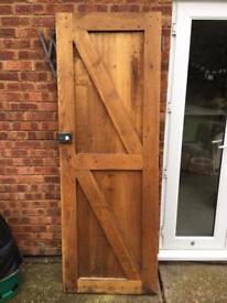 Solid Oak Jointed Door