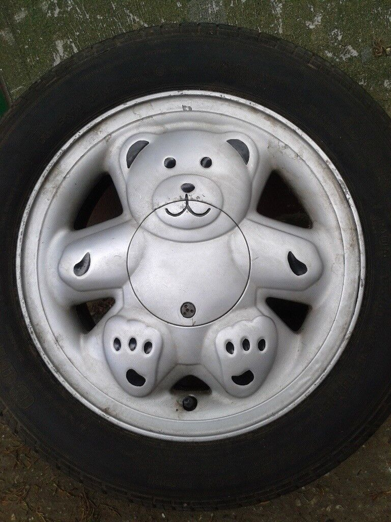 ronal genuine teddy bear alloys wheels  tyres  southend  sea essex gumtree