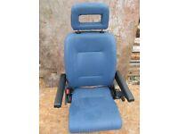 campervan seat rotates 360 motorhome