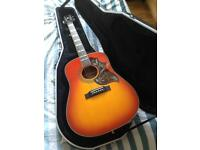 Gibson Epiphone Hummingbird Pro & Hardcase - CAN DELIVER