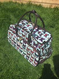 Pretty suitcase/holdall