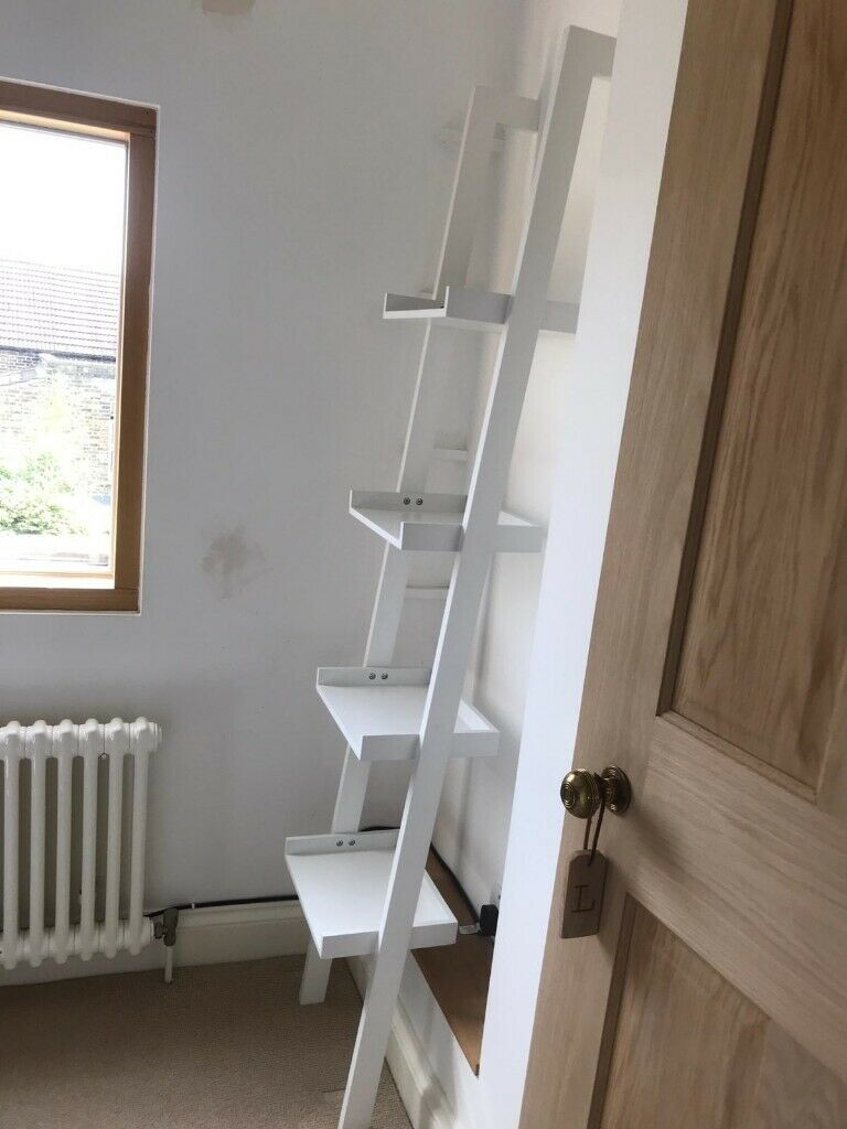 Habitat Jessie White Narrow Leaning Bookcase In Barnes London Gumtree
