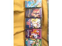 Retro Walt Disney VHS Collectable films