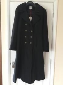 Joe Browns Military Coat. Size 16