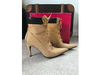 Ladies ankle boots - Lucy Lim Designer boots Size 6 Bought in Harrods