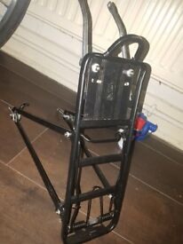 Back rack and kick stand excellent condition