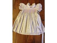 Girl's smock dress for aged 2-3 years