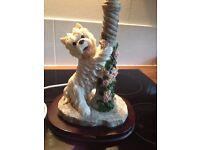 TABLE LAMP - West Highland White Terrier