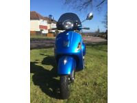 Vespa GTS 300 For Sale Excellent Condition One Owner Only 1,500 Miles Registered Sept 2014
