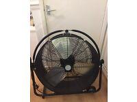 "26"" high velocity barrel fan rrp £335 **brand new**"