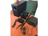 BOSE Acoustimass 15 home theater system in black WITH ALL THE CABLES ALL WORKING CALL 07707119599