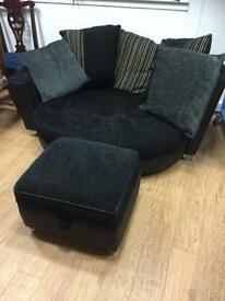 Extra large DFS love chair
