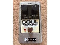 Electro-Harmonix Soul Preacher Compressor Guitar Effect Pedal