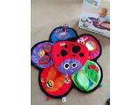 Lamaze tummy time garden gym