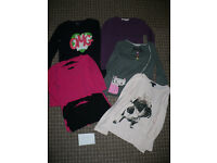 Bundle of 6 Long Sleeve Tops/ T-shirts for Girl 6-7 years/ 6-7years. Gap, H&M, Matalan
