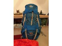 LOWE ALPINE TFX APPALACHIAN 65:85 Litre Backpack in an excellent condition
