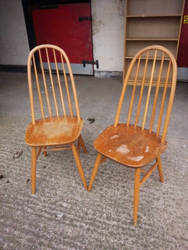 2 x Country Style Kitchen chair Seat Delivery Available