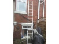 for sale Aluminium Extension Ladders only £20