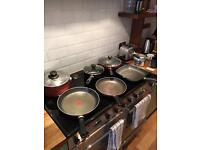 Selection of Tefal cookware